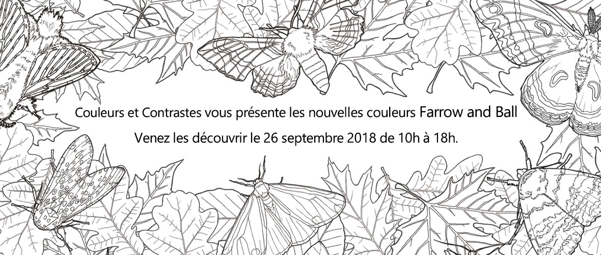 nouvelles couleurs Farrow and Ball 2018